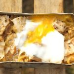 メスティン 豚バラの炊き込みご飯 with半熟卵